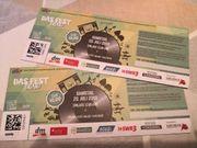 Das Fest Tickets 2x