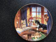 Porzellanteller Sammelteller Wandteller - Bradex-Serie Die