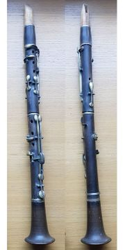 Antike Klarinetten Holz ohne Hersteller