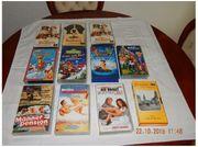11 Videokassetten Videofilme VHS auch