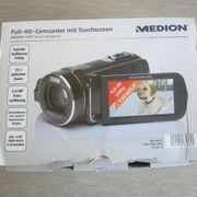 Full-HD- Camcorder mit Touchscreen