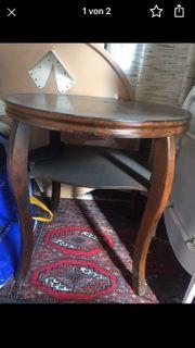 Tisch Holz rund