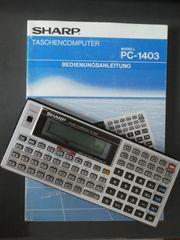 Sharp PC-1403 Taschencomputer Basic