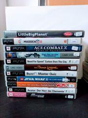 Playstation PSP Spiele und Filme