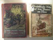 Antiquität Bücher Deutschlands Wehr Granatfeuer