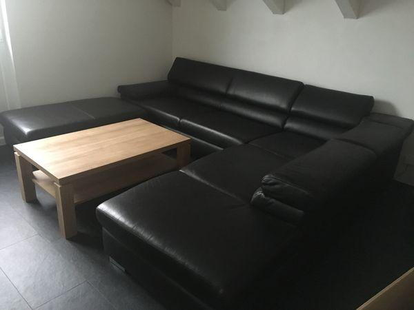 echtleder Couch von Puro neuwertig