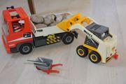 Playmobil Kipplaster und Radlader