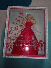Weihnachtsglaz Barbie 2012
