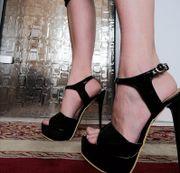 High Heels in unterschiedlichen Größen