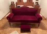antike Couch Sammlerstück