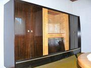 Wohnzimmerschrank mit Sideboard 70er Jahre
