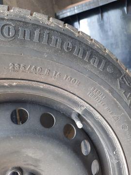 Winterreifen von Continental auf Stahlfelgen: Kleinanzeigen aus Durmersheim - Rubrik Winter 135 - 155
