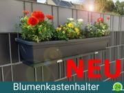 Blumenkastenhalter für Doppelstabzaun 10 Sets
