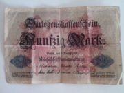 Banknote Deutsches Reich 50 Mark
