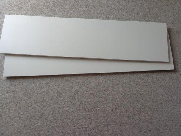 2 St Einlegeborde Schrankeinlegeborde Einlegeböden