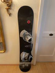 Snowboard Fever 156 cm Black