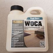 WOCA Parkett Pflegeöl weiß