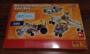rcee Metallbaukasten 3er-Set Flugzeug Traktor