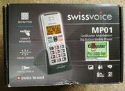 Swissvoice Grosstasten Mobiltelefon MP01