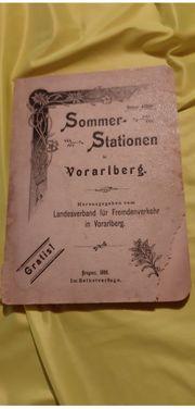 Sommerstationen Vorarlberg
