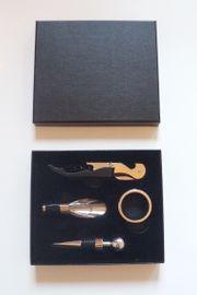 Hochwertiges Wein Accessoire-Set - 4-teilig - neu