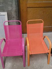 Kinder Gartenstühle