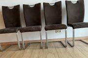 Stuhl 4 Stück Schwingstuhl