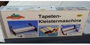 Tapeten-Kleistermaschine