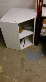 Ikea Faktum Eckhängeschrank in weiß