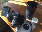 Nikon Sigma Metz-Kamera Set