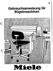 Bügelmaschine MIELE Elektronik B846
