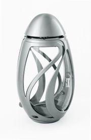 Exclusive Grablampe Verbena silber matt