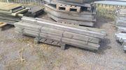 Abverkauf Restposten Holz Zaunpfosten 9