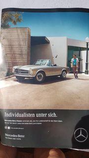 STOSSSTANGE Mercedes W113 sog Pagode