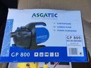 Gartenpumpe Asgatec Gp 800 neu