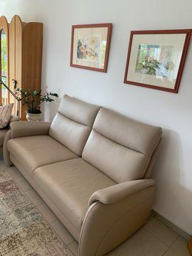 Leder Sofa Farbe Stone: Kleinanzeigen aus Trier Tarforst - Rubrik Polster, Sessel, Couch