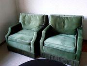 Couch und 2 Sessel Retro