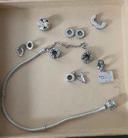 Pandora Armband 9teiliges Set