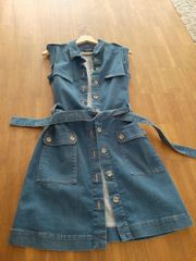 Jeans-Kleid von Massimo Dutti