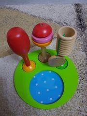 Holz Musikinstrumenten Tchibo