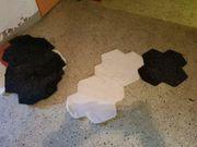 16 Esprit Puzzle Teppiche schwarz