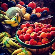 Kollegen für den Einkauf Obst
