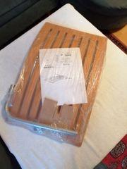 Originalverpackte Garderobe Hutablage Buche von