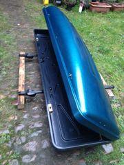 blaue Dachbox