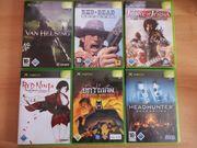 Diverse Xbox Classic Spiele