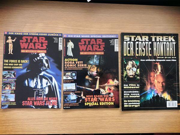 Star Wars Star Trek Magazine -