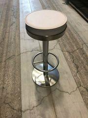 Barhocker runde Sitzfläche 9Stück - gebrauchter