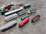 Wagons wie abgebildet H0