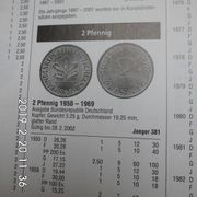 D-Mark 2 Pfennig 1969