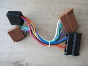 FORD Radioadapter Werksradio auf ISO